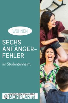 Wohnen im Studentenheim: 6 Anfängerfehler Uni, To Study, Student Home, Remodels, Knowledge, Tips
