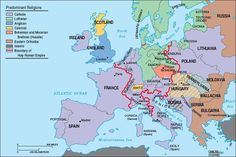 map of europe circa 1750 - Google Search