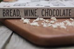 Bread, Wine, Chocolate | Simran Sethi's book