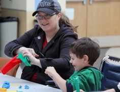Akron Children's Hospital helps heal through art, music.