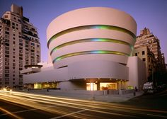 Guggenheim Museum. Frank Lloyd Wright. Photography by David Heald.