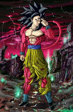 Goku ss4 #dragonball