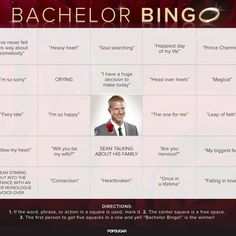 Print and Play Our Bachelor Bingo Boards For the Finale! Bachelor Bracket, Abc Bingo, Bachelorette Premiere, Abc The Bachelor, After The Final Rose, Bingo Board, Heavy Heart, Free To Use Images, Leap Of Faith