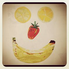 fruit face #illustration