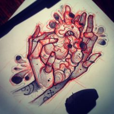 #tattoo #sketch #arms #heart