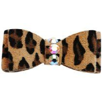 The Dog Squad Recycled Ultra Suede Pet Hair Bows, X-Small, Leopard ** You can get additional details at the image link. (This is an affiliate link and I receive a commission for the sales) Super Cute Dogs, Dog Hair Bows, Dog Itching, Dog Training Pads, Dog Shower, Dog Shedding, Dog Diapers, Dog Eyes, Making Hair Bows