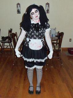 Living Dead Dolls Alice Doll Adult Women\'s Costume   . Costumed ...