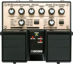 Boss gp-20 Awesome pedal!