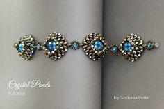 Superduo Bracelet Tutorial Beaded Bracelet by SidoniasBeads