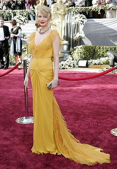 Oscars 2006: Michelle Williams in Vera Wang