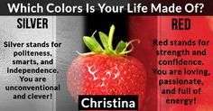 Which Colors Is Your Life Made Of?
