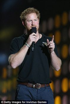 Prince Harry founded the Paralympic style Invictus Games in 2014. The first event was held in London's Olympic Park