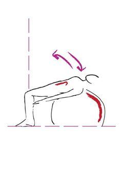 Übung für die schräge Bauchmuskulatur - Die besten Bauch-Beine-Po-Übungen - Auch die schrägen Bauchmuskeln müssen trainiert werden, sonst wird das nichts mit dem Sixpack! Übung: Legen Sie sich mit dem Rücken auf einen Gymnastikball, die Beine stehen im 90 Grad Winkel vor dem Ball...