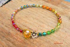 symbols of gods promises | God's Promise Rainbow bracelet/earthy/boho/weekend wear as seen on the ...