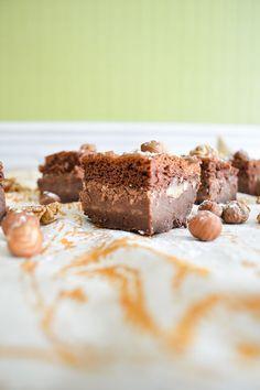Brownie magique {chocolat & noisettes} | Amandise | Les gourmandises d'Amandine