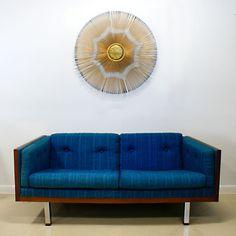 Danish Modern Love Seat