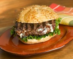 Blue Cheese and Bacon Burgers
