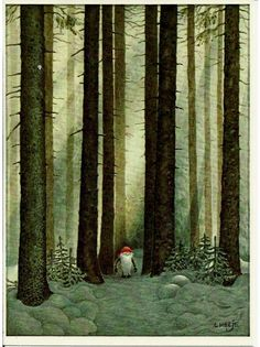 Lennart Helje Nissen Kleiner Großen Bäumen Small Elf Big Trees   eBay