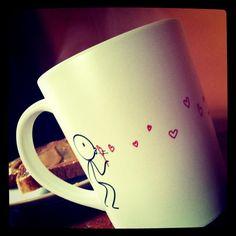 I love you...coffee cup
