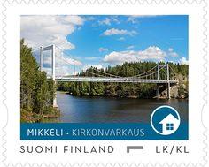 Postin verkkokauppa Paikalliset postimerkit Mikkeli Kirkonvarkaus - 10 ikipostimerkin arkki