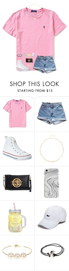 """""""keep calm and wear converse:)"""" by preppy-southerngirl ❤ liked on Polyvore featuring Ralph Lauren, Levi's, Converse, Ela Rae, Recover, Vineyard Vines, Jules Smith and Joie"""