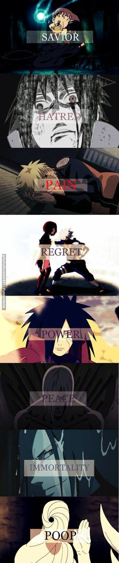 U go through this being like uhuuum uhuuum... And then u come to the end and u r like : ...  ..., Naruto funny