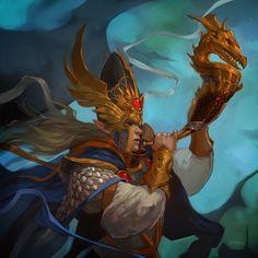 Warhammer - Dragon Caller (Fantasy Flight Games)