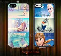 Disney+frozen+Phone+cases+iPhone+5+case+iPhone+5s+by+VogueLine,+$7.99