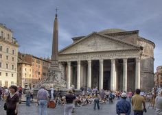 The Pantheon in Rome, Italy, photo by Keith Yahl.