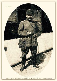 Atatürk Selanik'de 1909-1910
