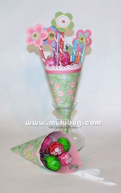 Spring candy bouquet