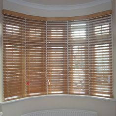 Venetian Blinds In Bay Window Google Search