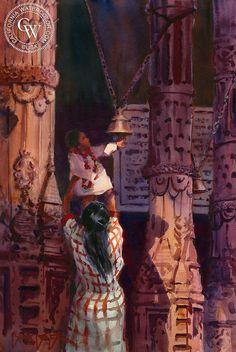 Ring the Temple Bells, Durga Temple, Varanasi