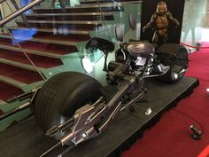 The Dark Knight Rises Batpod sold for at auction. More news here Batman Bike, Batman Batmobile, The Dark Knight Rises, 3rd Wheel, Engine Types, Green Arrow, Thunder, Rat, The Darkest