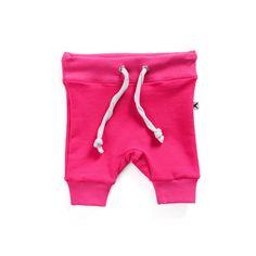 Baby Track Short, Hot Pink – Mr Wolf Kids