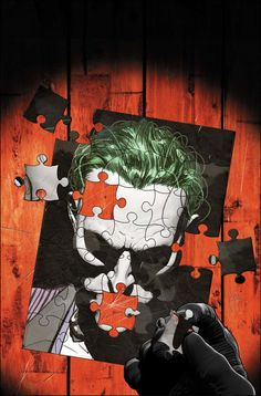 """The War of Jokes and Riddles"" begins to take a heavy toll on Gotham City in the latest issue of Batman. Joker Batman, Joker And Harley Quinn, Joker Arkham, Joker Art, Batman Stuff, Batman Robin, Comic Book Covers, Comic Books Art, Book Art"
