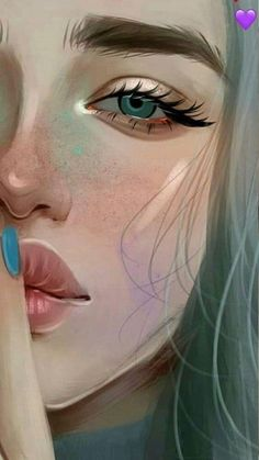 21 Must Known 2019 Tips and Idea for Art Painting Art And Illustration, Digital Art Girl, Digital Portrait, Portrait Art, Girly Drawings, Cool Art Drawings, Evvi Art, Cartoon Kunst, Cartoon Art Styles