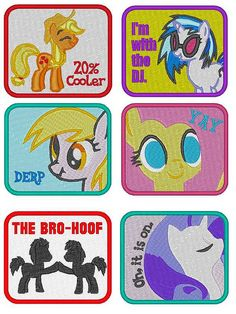 My Little Pony Friendship is Magic clothing patch by UpShirtCreek, $8.00