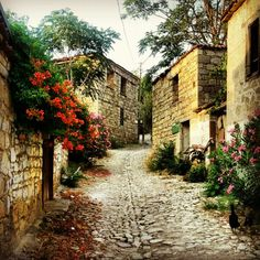 The Small Village of Adatepe, Altınoluk, Balıkesir, Turkey