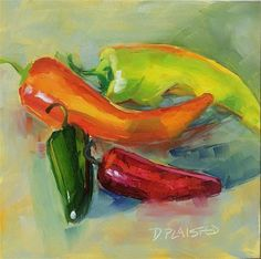"""""""Peppers"""" by Diane Plaisted"""