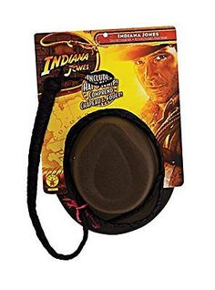 4613809d4fd Rubies Costume Co 33152 Indiana Jones Indiana Hat and Whip Set Adult Size  One-Size - Costumes