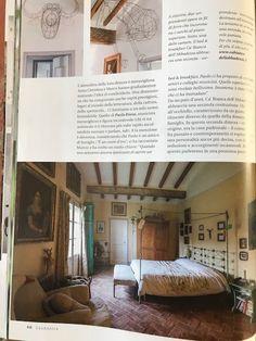 CASA ANTICA settembre ottobre 2017 #magazine #editorial #charme #bedroom #homedecor #interiordesign #architecture #cabiancadellabbadessa