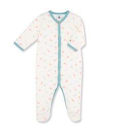 d1f62945c157 Dors bien bébé garçon imprimé blanc Lait   blanc Multico. Retrouvez notre  gamme de vêtements