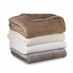 Cyprus Blanket with Thinsulate™ - BedBathandBeyond.com..in white
