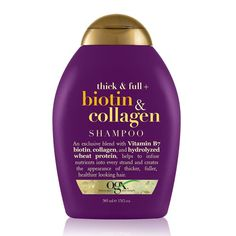 Shampoo For Fine Hair, Shampoo For Thinning Hair, Hair Growth Shampoo, Hair Shampoo, Best Hair Thickening Shampoo, Biotin And Collagen Shampoo, Hair Care, Good Shampoo And Conditioner, Voluminous Hair