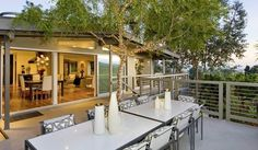 Jeff's Top Tips for Outdoor Spaces — Interior Therapy with Jeff Lewis Outdoor Rooms, Outdoor Dining, Outdoor Decor, Outdoor Kitchens, Outdoor Ideas, Indoor Outdoor, Jeff Lewis, Outdoor Flood Lights, Design Blogs