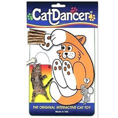 Cat Dancer The Original Interactive Cat Kitten Action Toy - BEST CAT TOY EVER #cattoy ** Click image for more details.
