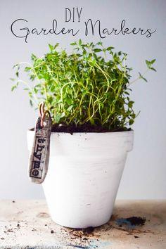 DIY Garden Markers u