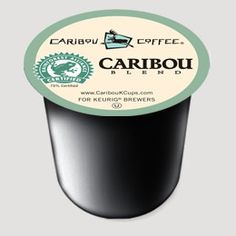 Caribou K-Cup: earthy, robust flavor with a smooth finish... should be enjoyed deep in the woods on the porch of a log cabin.