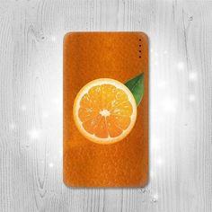 Orange Fruit Gadget Personalized Tech Gift Usb by Lantadesign